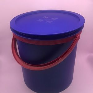 Tupperware Tall Round Container Tokyo 14.5 Liter